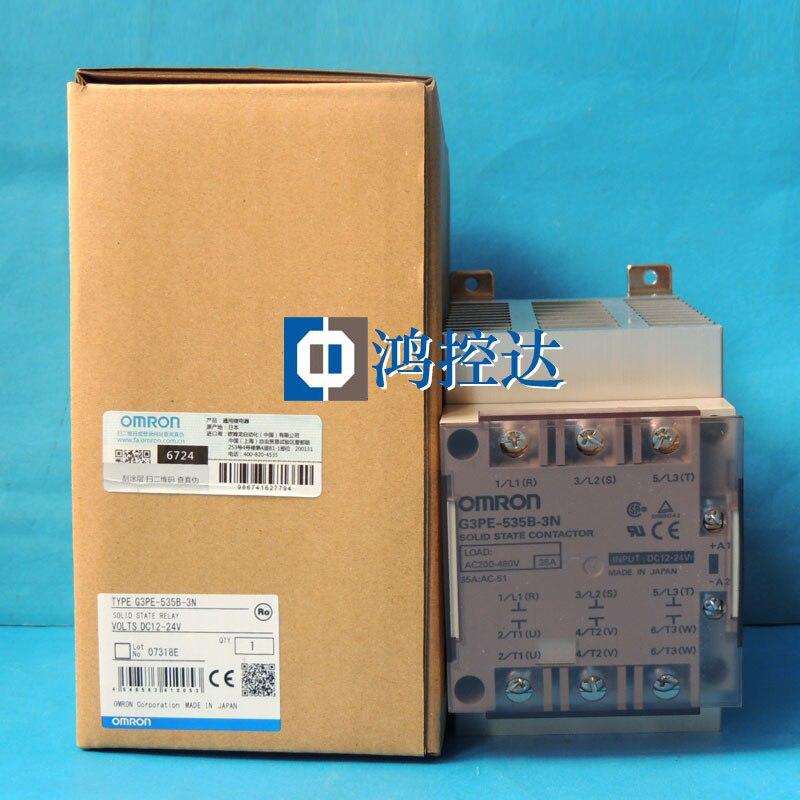 New Original Genuine  /solid-state Relay G3PE-535B-3N DC12-24V