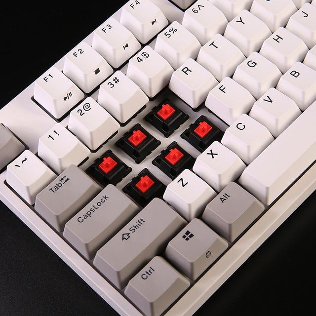 durgod 104 taurus k310 mechanical keyboard using cherry mx switches pbt doubleshot keycaps brown blue black red silver switch 3