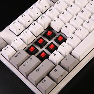 Image 3 - Механическая клавиатура durgod 104 taurus k310 с переключателями cherry mx, коричневые, синие, черные, красные, серебристые клавиши pbt doubleshot