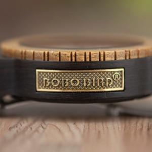 Image 2 - Relogio Masculino BOBO BIRD Mechanical Watch Men Wood Wristwatch Automatic часы мужские relojes para hombre Custom Gift Dropship