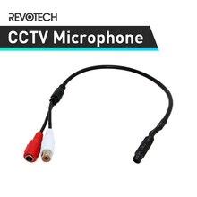 Мини аудио CCTV система наблюдения с микрофоном широкий диапазон звукоснимателя аудио монитор для камеры безопасности