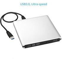3D Bluray Stick Bd-re-brenner-laufwerk USB 3.0 Externes DVD-RW/RAM CD/DVD/BD-ROM Player portable Superdrive für Laptop Apple Macbook PC