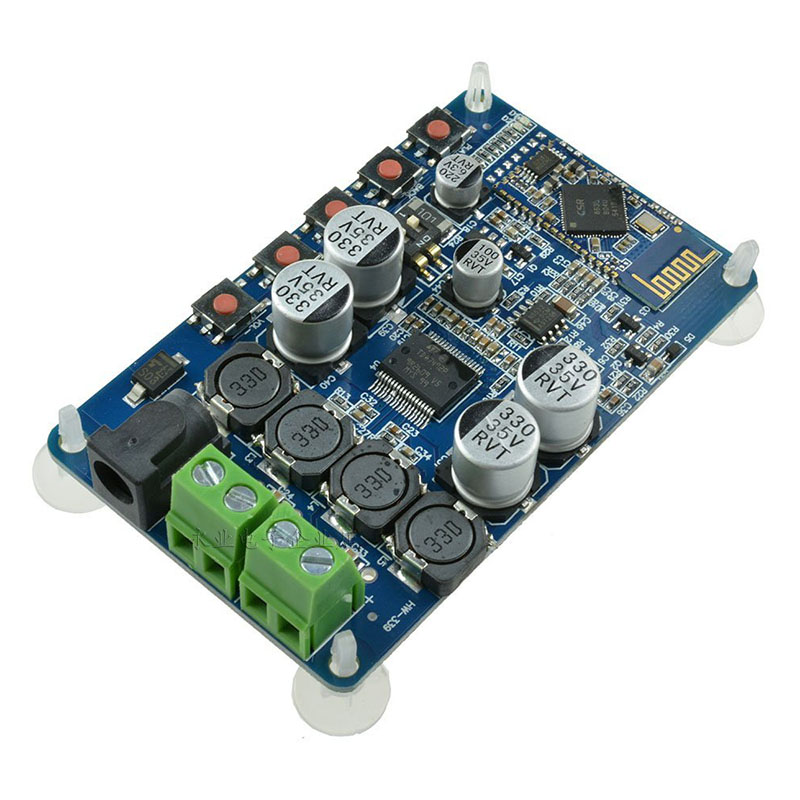 TDA7492P Bluetooth Power Amplifier Board Bluetooth Audio Reception Power Amplifier, Bluetooth CSR4.0 Digital Power Amplifier Mod