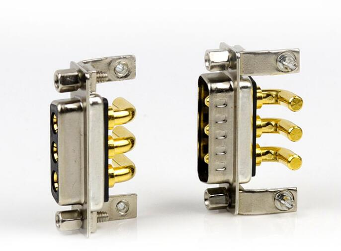 1pairs Power Connector 3W3 Needle D-SUB Male/Female 3 Core D Mixed Current 40A Plug Wire dynacord dynacord d 15 3