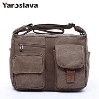 2017 New Canvas Bag Handbag Men Oblique Satchel Bags Men Messenger Bag Shoulder Bag LL243