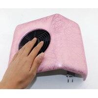 110 v/220 V Nail Art Salon de Aspiración de Polvo del Colector de Manicura Presentación Acrílico Gel UV Volcar La Máquina Aspiradora Herramienta anterior del salón