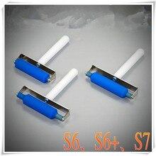 Роликовый пластырь для samsung S6 edge S6+ plus edeg S7 edge post OCA пленочный роллер bulldozed плоский tir