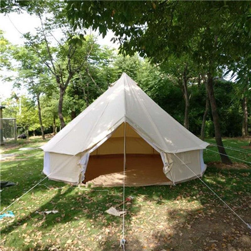 Размер 200*300*300/60 см колокольчик типа наружная парусиновая палатка, большая аварийная палатка, индивидуальная огнестойкая парусиновая тепла