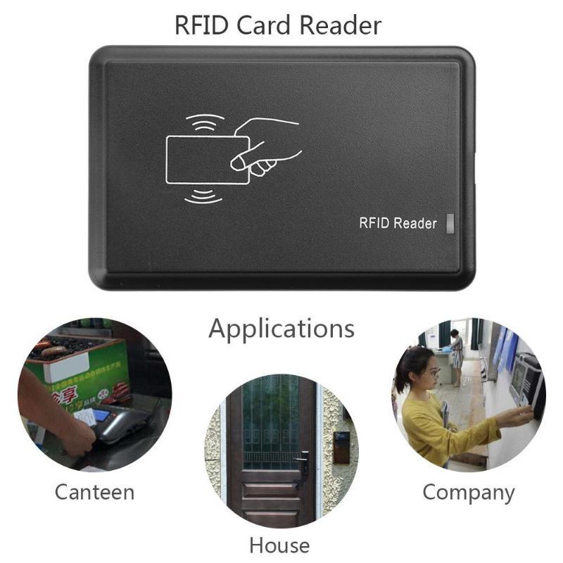 Newest Smart IC Card USB Sensor Reader Free Driver MF\S50\S70 14443A Proximity 13.56Mhz RFID Access Control Card Reader