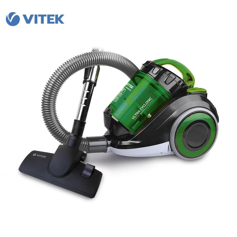 Vacuum Cleaner Vitek VT-1815 for home cyclone Home Portable household dry cleaning dustcontainer  cleaners for home canister vacuum cleaner for home puppyoo p9 aspirator powerful suction 2200w cyclone portable household cleaning appliances