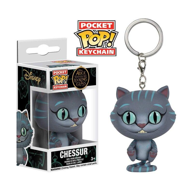 FUNKO POP Alice in Wonderland-Чеширский кот, фигурка, милый брелок, коллекция моделей, игрушки для детей, подарок в розничной коробке