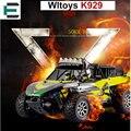Wltoys k929 passatempo rc car buggy elétrico veículos rc toys 50 km/h monster truck unidade de rádio de alta velocidade do eixo off-estrada monstro