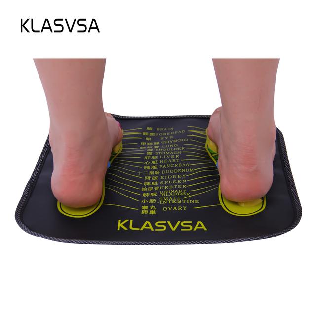 KLASVSA Reflexology Walk Stone Foot Leg Pain Relieve Relief Walk Massager Mat Health Care Acupressure Mat Pad massageador