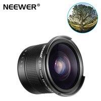 Neewer 52MM 55MM 58MM 0.35x Pro HD Fisheye Wide Angle Lens (Macro Portion) for Canon Nikon Sony