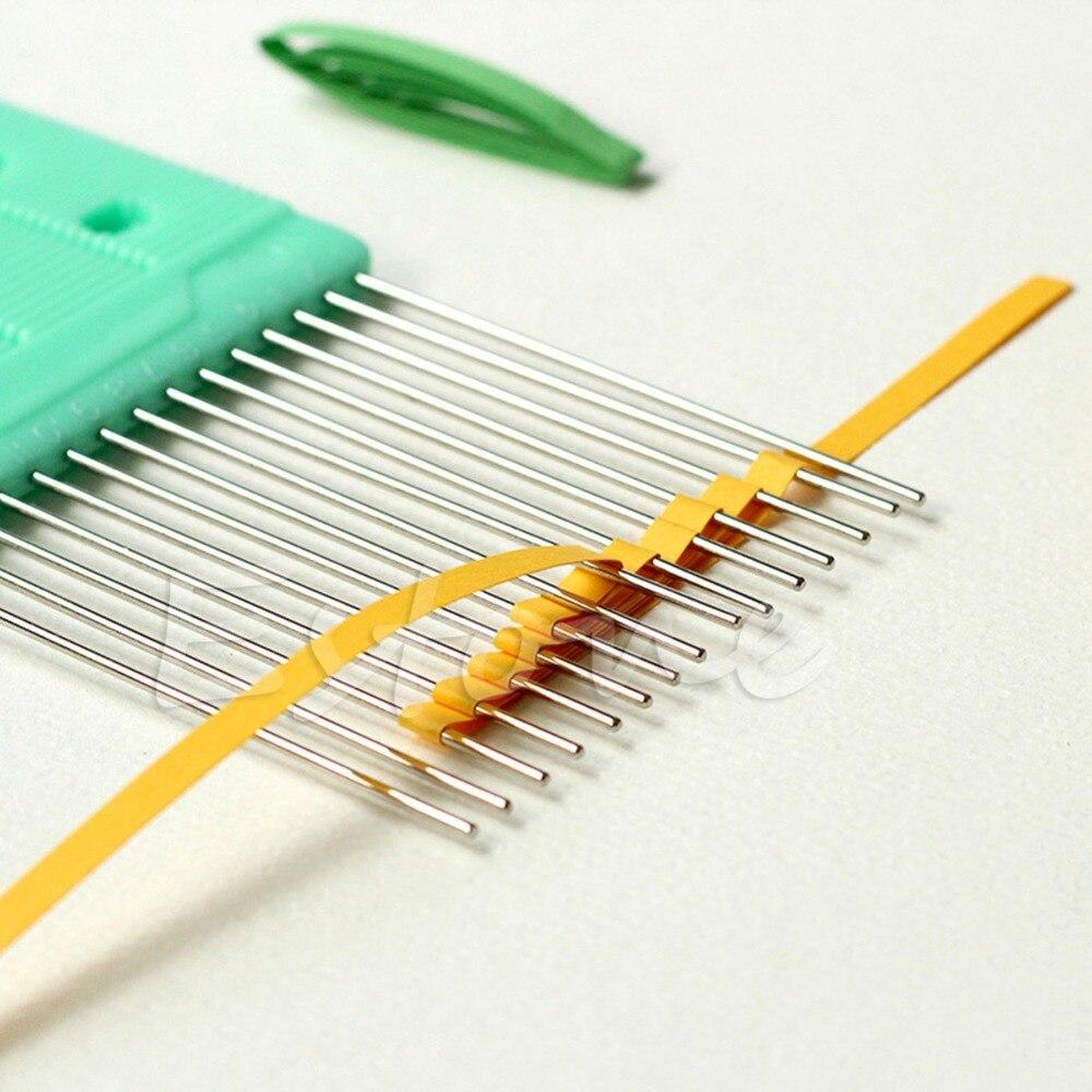 Nouveau Papier Quilling Peigne Outil Papier Artisanat Outil Creat Boucles Accessoire Fournir(China (Mainland
