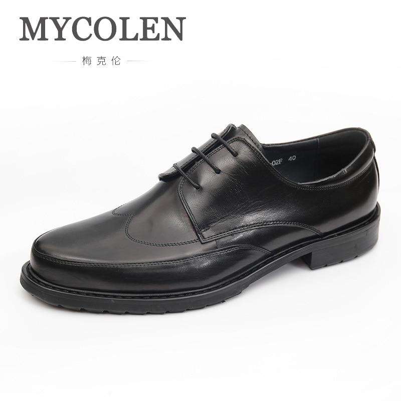 Mycolen Designer Masculinos up Italiano Preto Lace vermelho Marca Nova Sapatos Couro Vinho Homens 2019 Marrom Preto De Casuais rqA0Wfr1