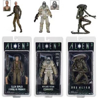 NECA Aliens 3 Dog Alien Ellen Ripley Weyland Yutani Weyland Yutani Commando PVC Action Figure Collectible Model Toys Doll 7