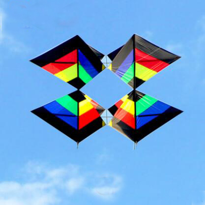 Envío de la alta calidad 3D ángel del vuelo de la cometa con la línea de mango fresco juguetes al aire libre surf kite pulpo weifang kite factory