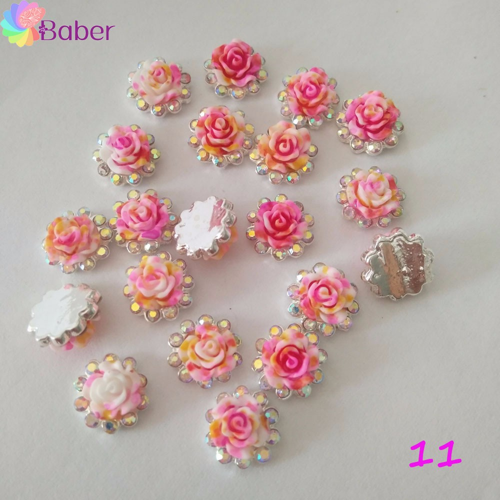 3D Nail Art Dried Flower stickers on the phone Mixed Natural Sticker DIY Manicure Nail Art Decorations rhinestones for nails direct continental carved 3d nail stickers nail sticker nail art stickers 3d nail stickers xf711