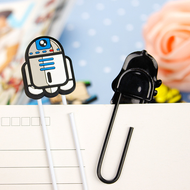 Star War Bookmarks Novelty Book Page Holder as Book Mark Clips 30pcs/lot
