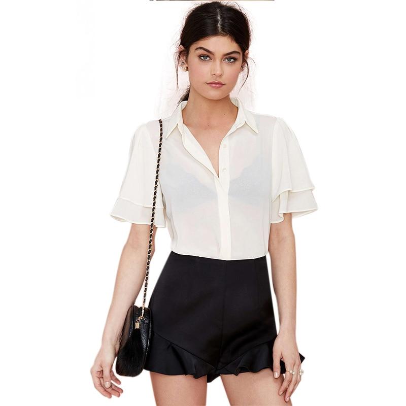 Online Get Cheap Sheer White Shirt Women -Aliexpress.com | Alibaba ...