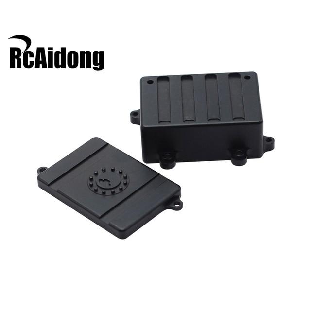 RC Car Radio Box Parts for 1:10 d90 d110 Axial SCX10 Crawler car