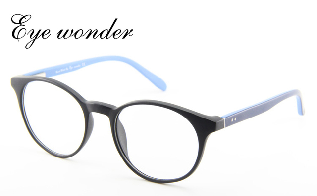 Eye wonder femmes rond acétate montures de Lunettes Designer Lunettes de monture  optique Oculos de grau f7d8fe97855