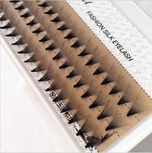 Cílios postiços hbzgtlad 8-14mm, curvatura natural de c, 2/3/5/6/10/extensão de cílios postiços preto 20d, dicas de beleza, ferramentas grandes