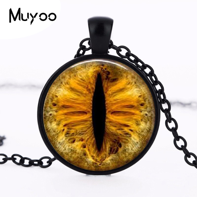 Steampunk new gold dragon eye pendant necklace vintage eye jewelry steampunk new gold dragon eye pendant necklace vintage eye jewelry necklace gift women men chain hz1 aloadofball Images