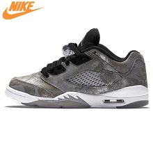 b86217a85f33 Nike Air Jordan 5 Faible Prime GS AJ5 Joe 5 All-star Femmes de Basket-Ball  Chaussures Sneakers, d'origine Amorti Chaussures 8199.