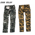 ZOOB MILEY Casual Men Camouflage Baggy Cargo Pants Fashion Military Work Overalls Trousers Loose Printed Pants Plus Size 28-40
