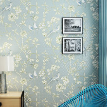 Chinese Style Wallpaper Living Room Bedroom TV Background Nonwoven 3D Wall Paper