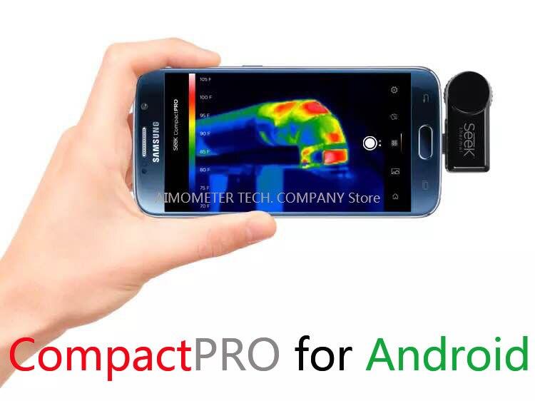 d56a79b93f7 US $486.0 |Seek thermische compact pro jacht Beeldcamera thermische camera  infrarood imager nachtkijker Android en IOS versie in Seek thermische ...