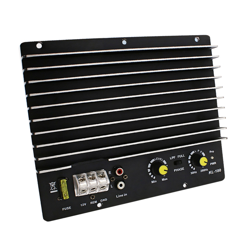 1200W Car Audio Power Amplifier Subwoofer Power Amplifier Board Audio Diy Amplifier Board Car Player Kl-180