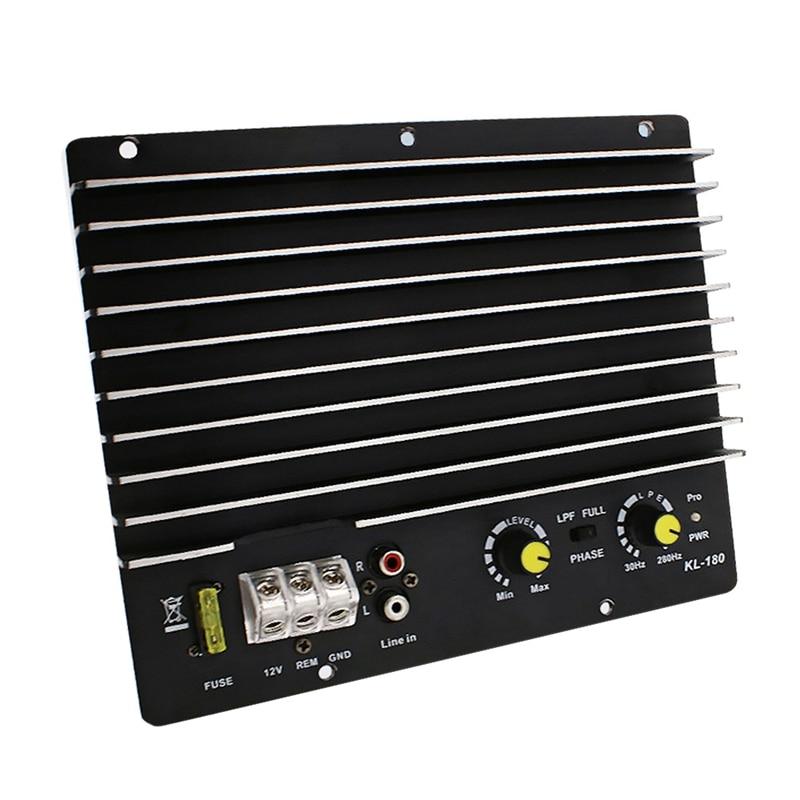 1200W Car Audio Power Amplifier Subwoofer Power Amplifier Board Audio Diy Amplifier Board Car Player Kl-180