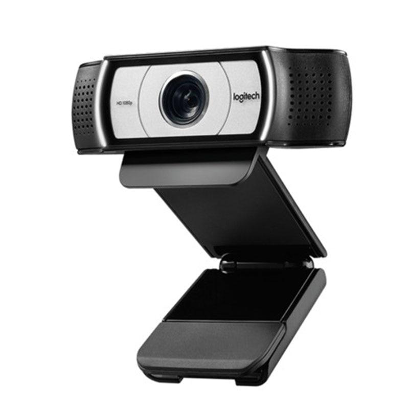 New Genuine 100% Logitech Webcam C930E 15MP FHD Camera 1920*1080P HD Webcam DDP ASOS Webcamera Send Stand