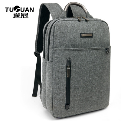 0050 TUGUAN 2017 High-end gift custom backpack fashion business high-quality shoulder bag large-capacity portable shoulder bag high quality silk 35mm 200m blank washing mark high end laundering tags for garment provide custom order