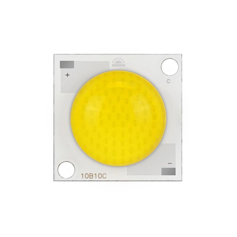 [MingBen] LED Colloid Lens COB Chip Lamp 20W 30W 50W High Power LED Chip AC28-32V Input DIY for LED Spotlight Beads 180 Degree 10pcs 3w led cob chip 280 300ma 180 200lm chip input dc9 11v chip size 28mm 20mm fit for diy led floodlight spotlight
