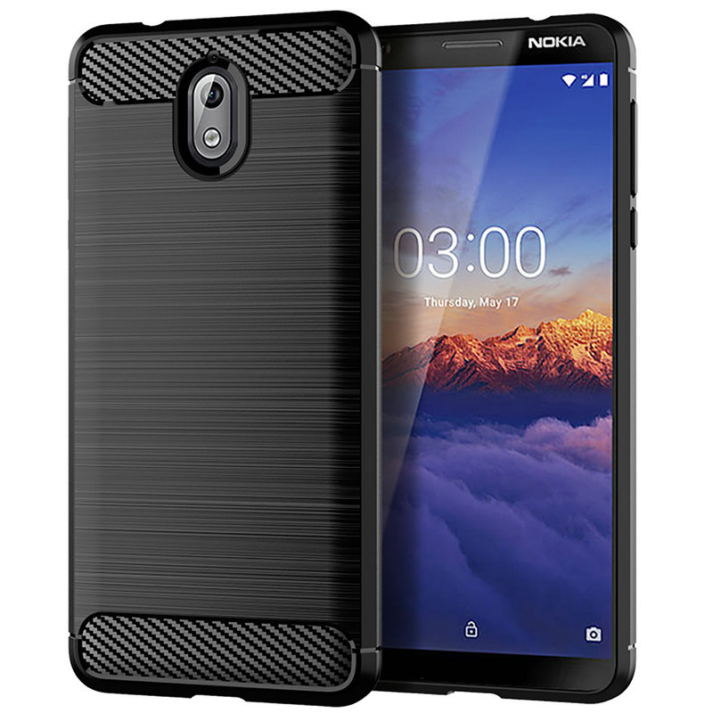 for Nokia 3.1 3 2018 WIERSS Anti-fingerprint Phone Case Cover for Nokia 3.1 Plus for Nokia 3 Slim Armor Case Cover Fundas>