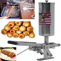 1pc Commercial 5L Stainless Steel Latin Fruit Jishou Keda Fruit Cake Machine Puff Filling Machine Filling
