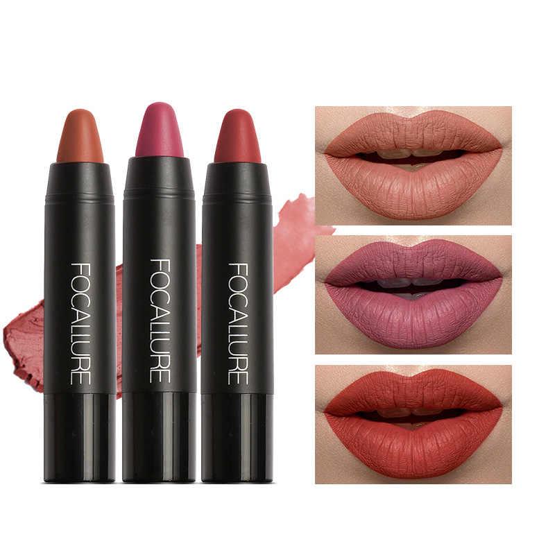 FOCALLURE mate pintalabios belleza Sexy maquillaje impermeable lápiz labial de larga duración maquillaje labial cosmético lápiz labial