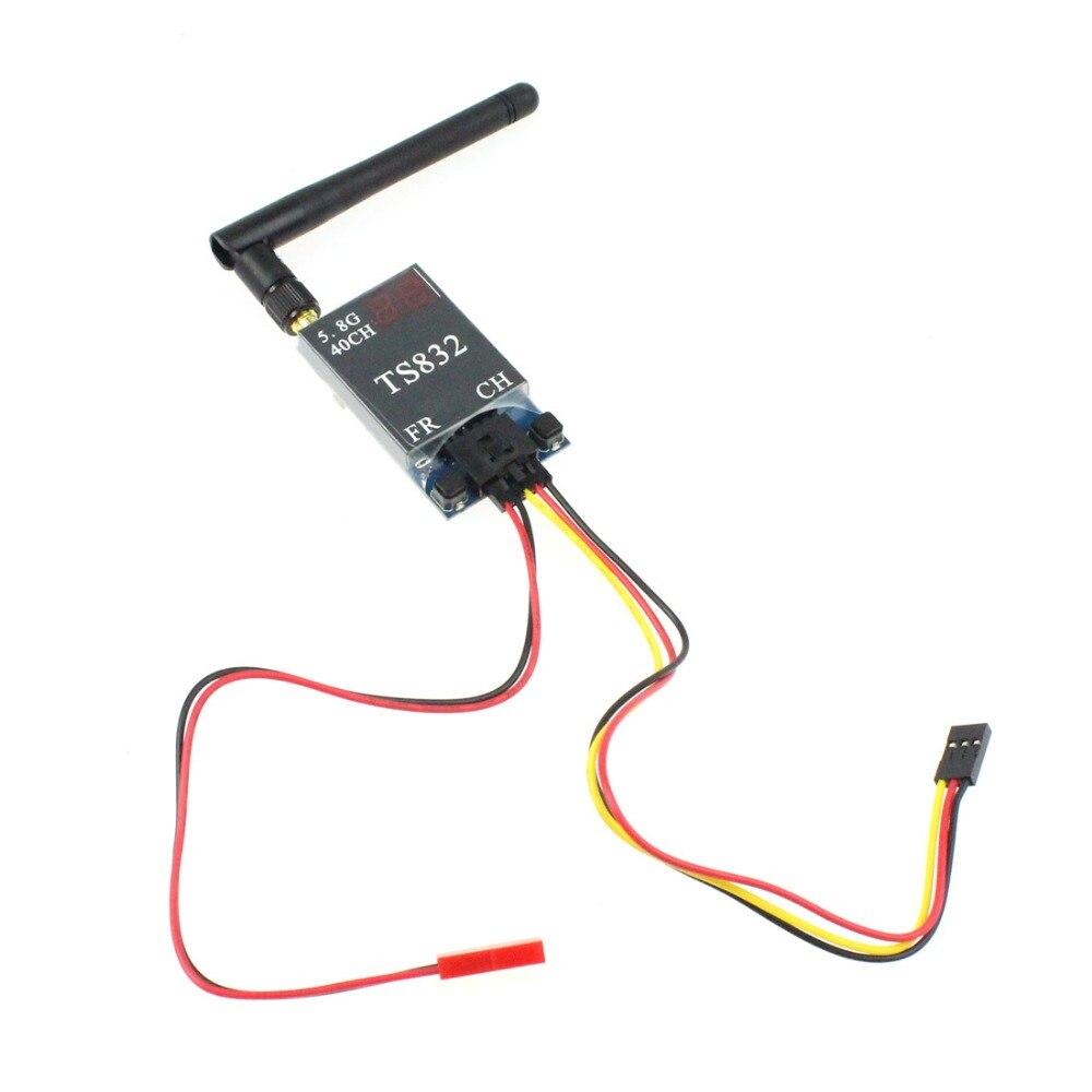 F07271 FPV 600mw Aerial Photography TS832 5.8G 40CH AV Transmitter System