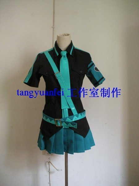 Anime Vocaloid Cosplay Hatsune Miku Costumes  Customize Freeshipping
