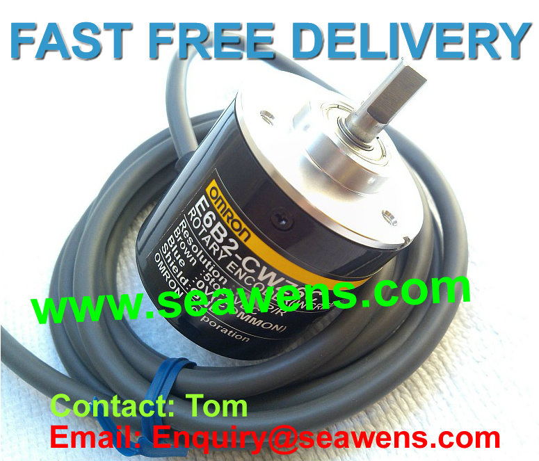 E6B2-CWZ1X 50P/R encoder, Rotary encoder E6B2-CWZ1X 50P/R, Diameter 40 mm series ,FREE SHIPPING e6a2 cs5c 50p r rotary encoder new e6a2cs5c 50p r 50pr compact size e6a2 cs5c