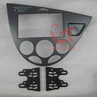 Frete grátis Carro remontagem quadro DVD  painel de DVD  Kit Dash  Fascia para 06 Ford Fiesta/foco  2DIN (Europa  À Direita)|Fáscias| |  -