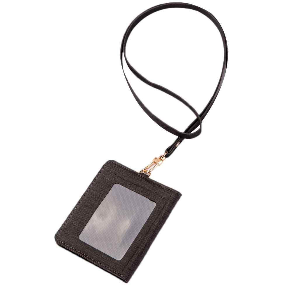 Mens Leather Bifold Short Wallet Lanyard Vintage Card Holder  Multifunction Coin Purse Fashion Hanging Neck Bag portamonete uomo