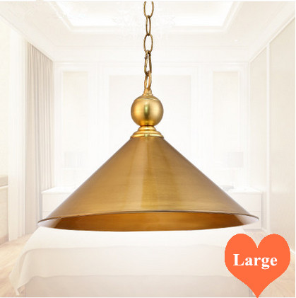 Mordern creative entire copper Pendant lights polishing&vacuum coating E27 LED single lamp for porch&pavilion&stairs BRSDD020 1pc white or green polishing paste wax polishing compounds for high lustre finishing on steels hard metals durale quality