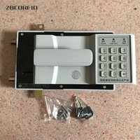 DIY safe box Door locks Digital Electronic Safe Box Keypad Lock Wall Security Cash Jewelry Hotel Cabinet Safes