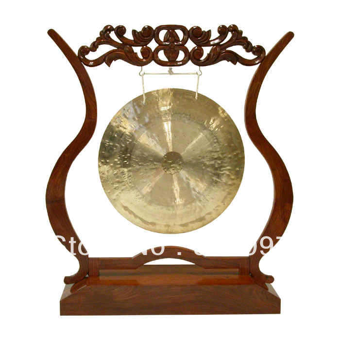 High Quality Brass Gong !100% Handmade Bronze Gong,10''chinese Traditional Wind  GONG