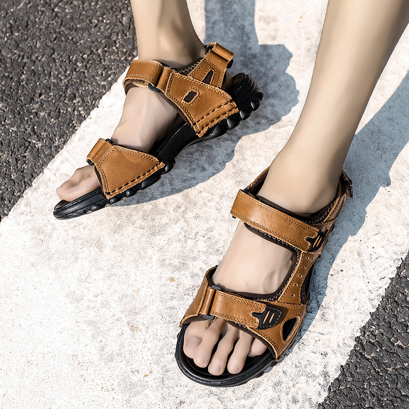 Thestron <font><b>Men</b></font> <font><b>Sandals</b></font> <font><b>Fashion</b></font> Shoes Large Size 45 46 47 48 2019 <font><b>Summer</b></font> <font><b>Sandals</b></font> <font><b>Men</b></font> <font><b>Outdoor</b></font> <font><b>Sandals</b></font> Quality Shoes Luxury Footwear image